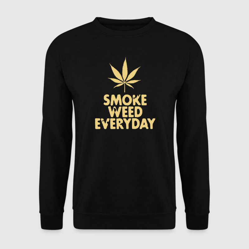 smoke weed everyday leaf - Men's Sweatshirt