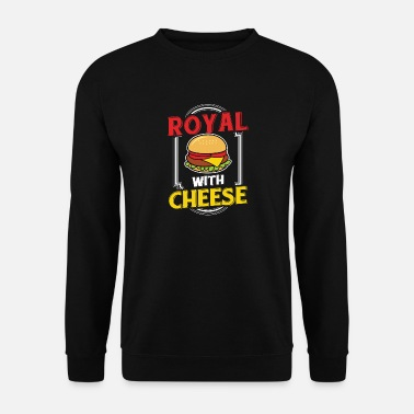 Gehaktbal Hamburger Hamburger Cheeseburger eten vlees eten - Mannen sweater