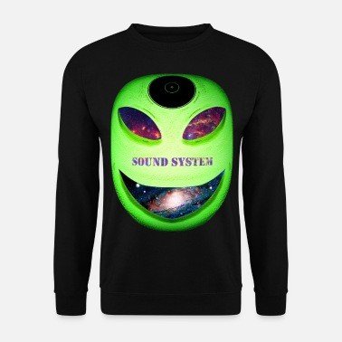 Teuf Alien galax 1 - Sweat-shirt Homme