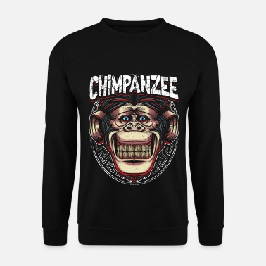Chimpanzé chimpanzé - Sweat-shirt Homme