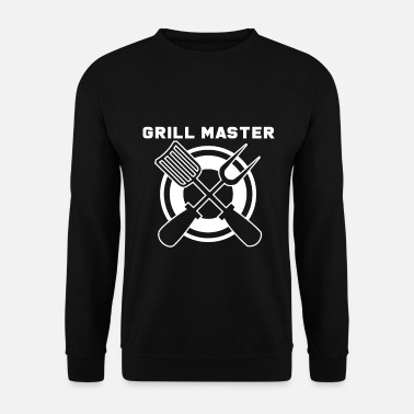 Instructeur Du Barbecue Barbecue Grillmeister Barbecue Barbecue Barbecue - Sweat-shirt Homme