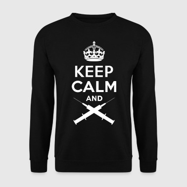 Keep Calm - Spritze - Sweat-shirt Homme