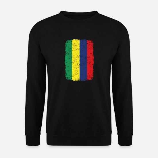 Gift Sweaters & hoodies - roots roots thuisland inheemse Mauritius - Mannen sweater zwart