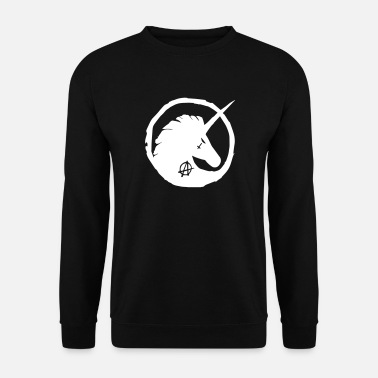 Anarchisme Anarchhorn. - Mannen sweater