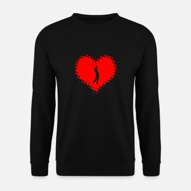 Golf I Love Golf - Golfing Golfball Golfing Ball - Men's Sweatshirt