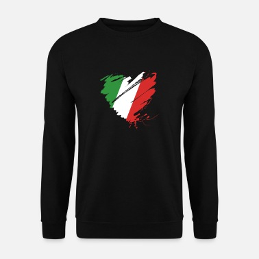 Cuore Coeur Cuore Italie Calcio Italiano Football - Sweat-shirt Homme