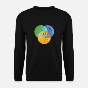 261d0b79d8f98 Guide de Venn à la couleur de galaxie T-shirt premium Homme ...