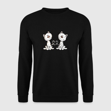 Meilleurs amis Chat - Chat - Fat Friends - Fun - Sweat-shirt Homme