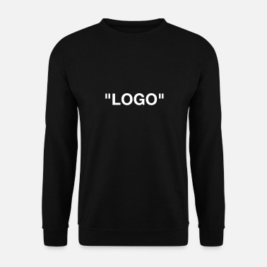 Logo logo - Sweat-shirt Homme