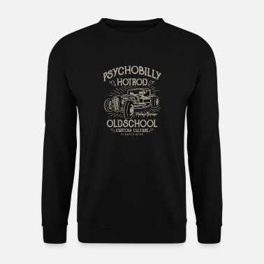Psychobilly Psychobilly Hotrod - Sweat-shirt Homme