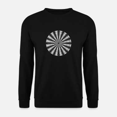 Optique illusion d'optique - Sweat-shirt Homme