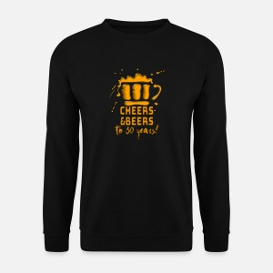 30s Birthday Cheers Beer Drinking Party Gift By Teequeen2603