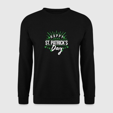 Happy st patrick's day Geschenk Irland Rock Bier - Sweat-shirt Homme
