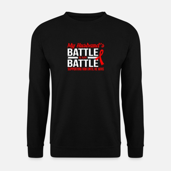 Bataille Sweat-shirts - Vicieuse bataille T-shirt - Sweat-shirt Homme noir