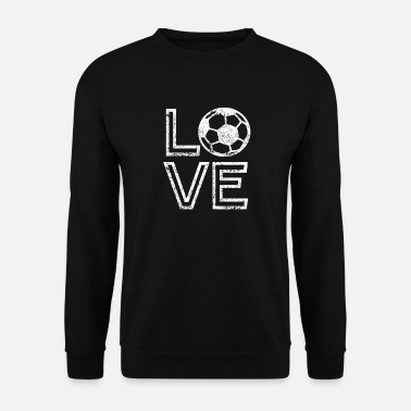 I Love Soccer Soccer LOVE | I Love Soccer - Männer Pullover