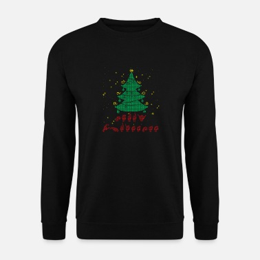 Language Sign Language Merry Christmas Shirt Ugly - Men's Sweatshirt
