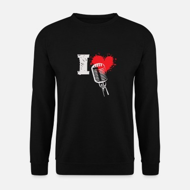 Graal I Love Microphone - Mannen sweater