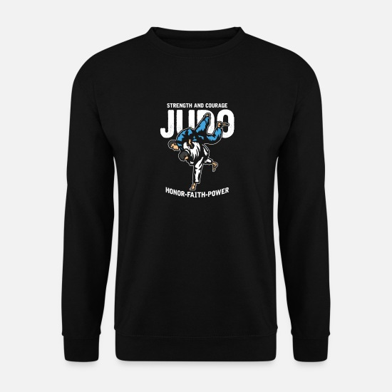 Judo Sweat-shirts - judo - Sweat-shirt Homme noir