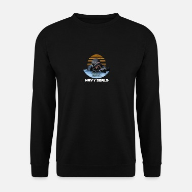 Navy Navy Seals Rescue Diver - Sweat-shirt Homme