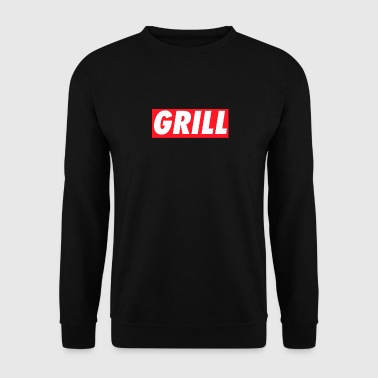 Grill #Grill - Men's Sweatshirt