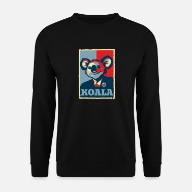 Præsident Obama Koala præsident Obama gave - Herre sweater
