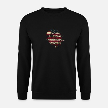 American Eagle American Eagle USA Flag - Felpa uomo e2518eabcf0f