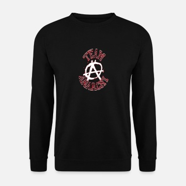 Anarquista Equipo Anarchy Rebellion Demonstration Punk - Sudadera hombre