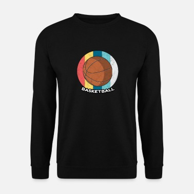 Day Basketball Vintage Sport Ball Korb Geschenk - Sweat-shirt Homme