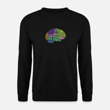 Region The regions of the brain - Men's Sweatshirt