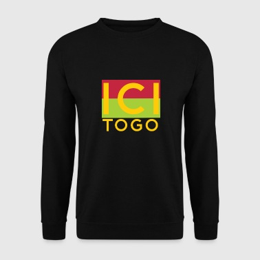 Ici Togo Africa Shirt Togo - Sweat-shirt Homme