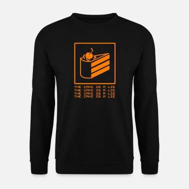 Cake THE CAKE IS A LIE - Men's Sweatshirt