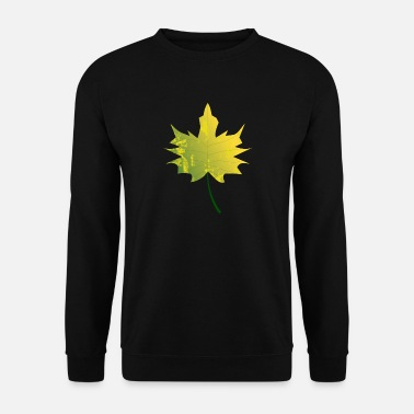Leaf Maple Leaf - Maple à l'automne - Sweat-shirt Homme