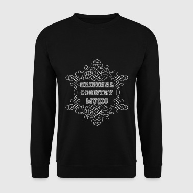 original country music - Sweat-shirt Homme