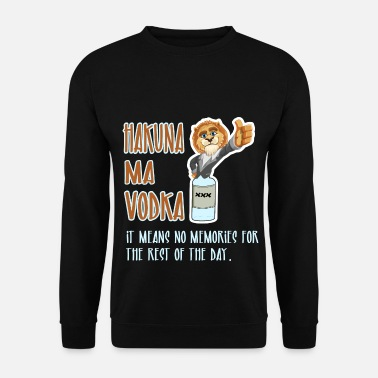 Cicchetto HAKUNA MA VODKA Shirt JGA Party Liquor Gift - Felpa uomo