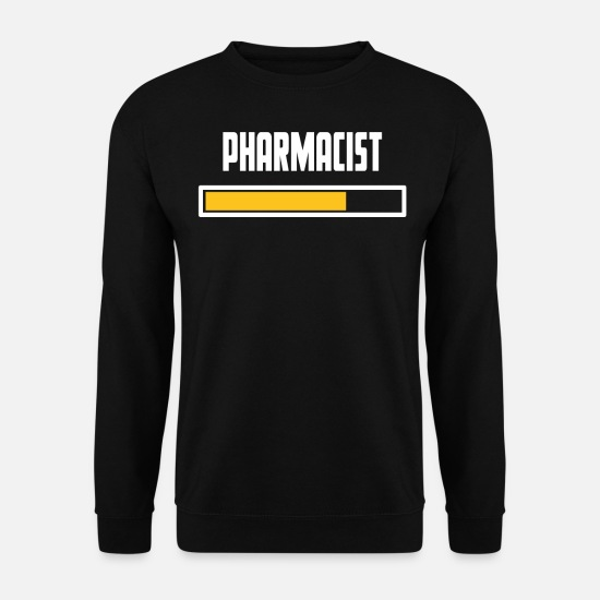 Pharmacien Sweat-shirts - Pharmacien, installation, t-shirt - Sweat-shirt Homme noir