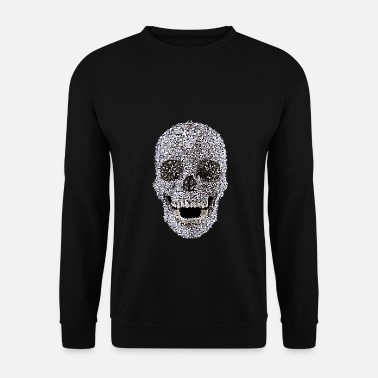 Tête De Mort Skull - conception de t-shirt - Sweat-shirt Homme