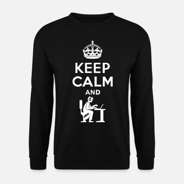 Geek Keep Calm - Nerd - Programmieren - Gamen - Sweat-shirt Homme