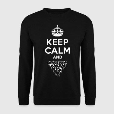 Keep Calm - Billard - Bluza męska