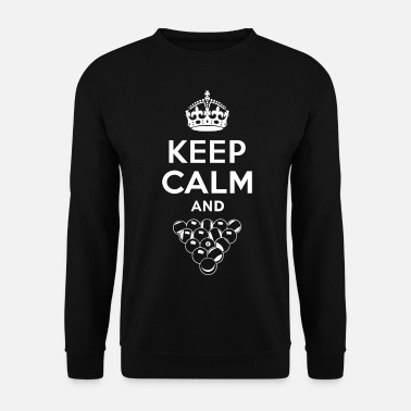 Keep Calm Keep Calm - Billard - Sweat-shirt Homme