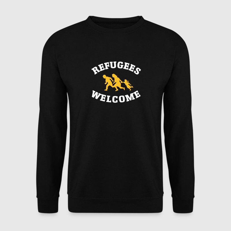 Refugees Welcome - Mannen sweater