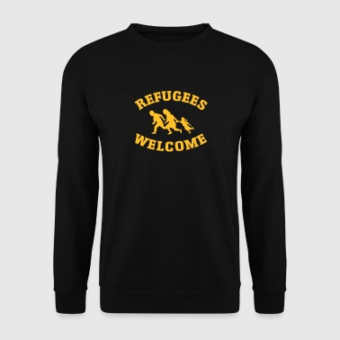 Refugees Welcome Refugees Welcome - Men's Sweatshirt