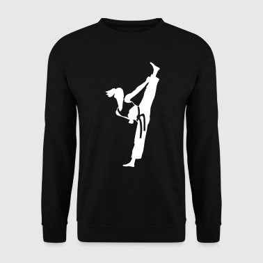 Female martial artist - Men's Sweatshirt