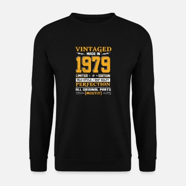 Vintage Vintaged Made In 1979 Limited Editon - Men's Sweatshirt