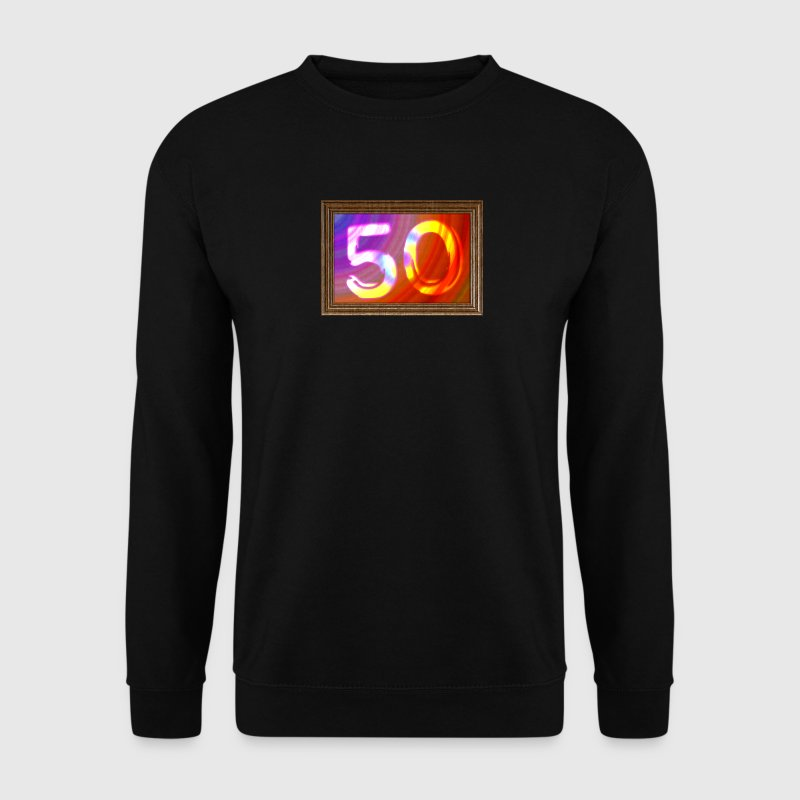Birthday-50 years - image - Men's Sweatshirt