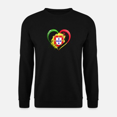 Portugal Portugal heart - Men's Sweatshirt