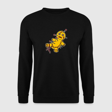 Digital - Voodoo Puppe Doll Funny Game Hawaii Tattoo Horror Psychopath - Sudadera hombre