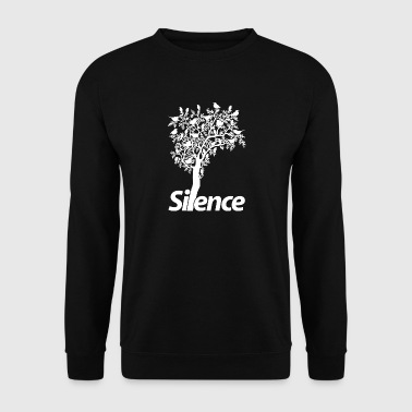 silence wite - Sweat-shirt Homme