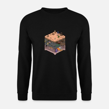 Video Game Isometrische video game kerker - Mannen sweater