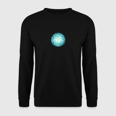 Lightning Ball, Chi, Reiki, Chakra, Energy, Flash - Men's Sweatshirt
