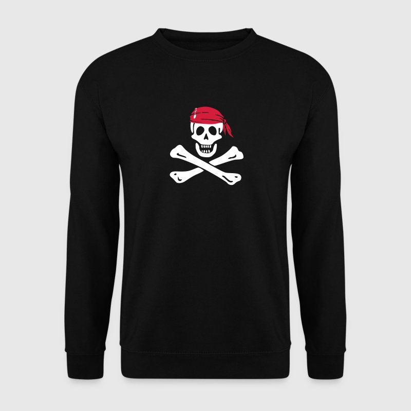 jolly roger pirate - Sweat-shirt Homme